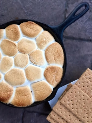 Amy's Skillet S'mores