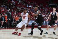 Donta Hall leads the way as Tide basketball team rolls past Spartans 78-61 (via Crimson Magazine)
