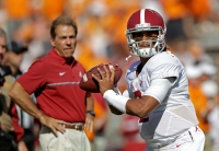 Saban, trio of Tide standouts, recognized by SEC football coaches with awards (via Crimson Magazine)