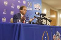Crimson Tide begins bowl week preparations for Saturday's meeting with Washington.