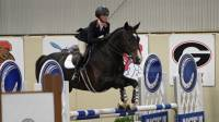 AUBURN WOMEN EQUESTRIANS IN ACTION